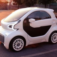 3D-Printed Car is Electric and Costs Under $10K By Good News Network