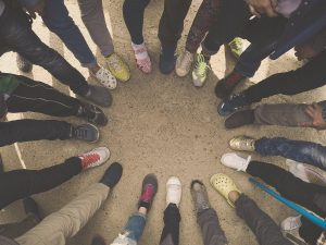 Community Forming: Walk in the Ways of a World Citizen
